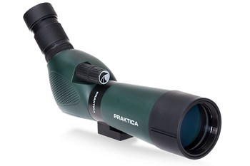 PRAKTICA CD154560G Highlander 15-45x60mm Angled Spotting Scope Green