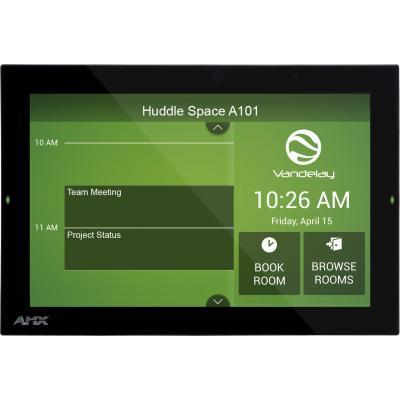 "AMX FG4221-10 Acendo Book 10.1"" Touch Panel Cross Platform Room Scheduling Software Integration"