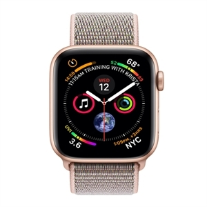 Apple  MU6G2B/A - WTCH S4 GPS 44MM GOLD PINK SAND SPORT LOOP IN - Smart Watch