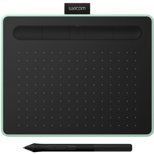 Wacom CTL-4100WLE-N WACOM INTUOS S BLUETOOTH PISTACHIO IN - Graphics Tablet